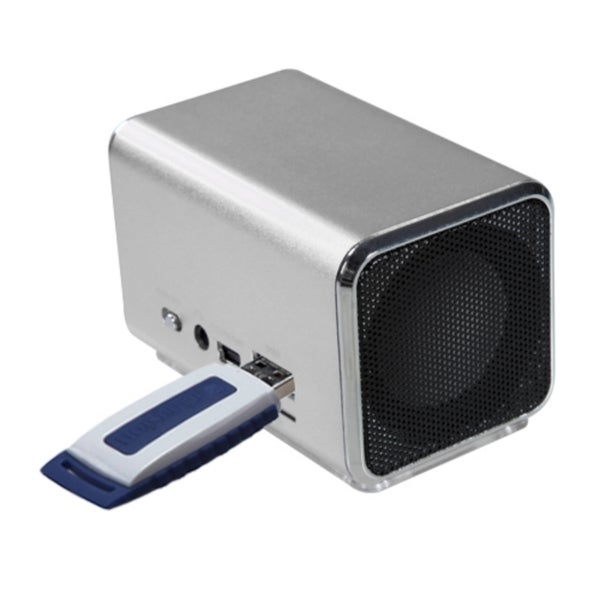 INSTEN Silver Speakers for PC/ MP3 Player/ Cell Phone