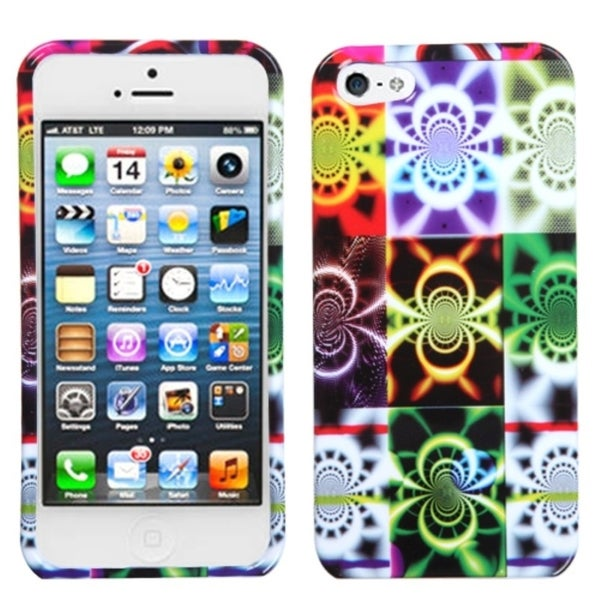 INSTEN Camo Glow Phone Case Cover for Apple iPhone 5
