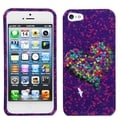 BasAcc Mosaic Heart Case for Apple iPhone 5
