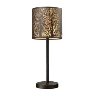 Dimond Lighting 1-light Table lamp in Aged Bronze Finish