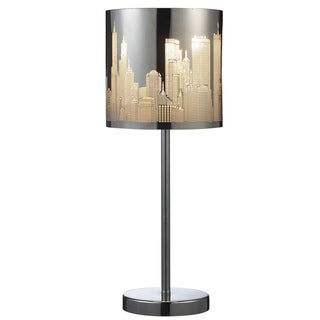 Dimond Lighting LED 1-light Table Lamp In Polished Stainless Steel Finish