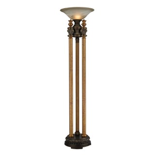 Dimond Lighting 1-light Floor Lamp in Athena Bronze Finish
