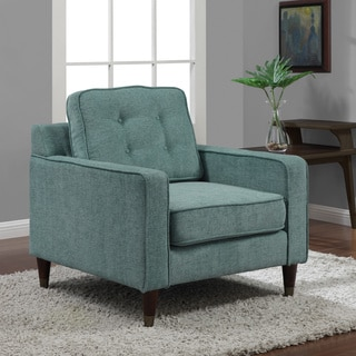 Jackie Aqua Arm Chair