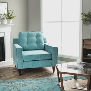 Jackie Aqua Arm Chair
