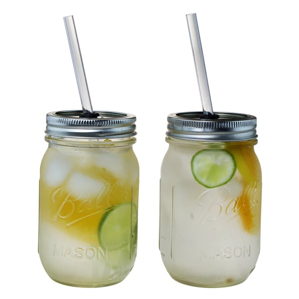 The Original RedNek 16-ounce Sipper Drinking Jars (Set of 2)