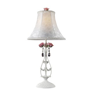 Dimond Lighting 1-Light White Table Lamp