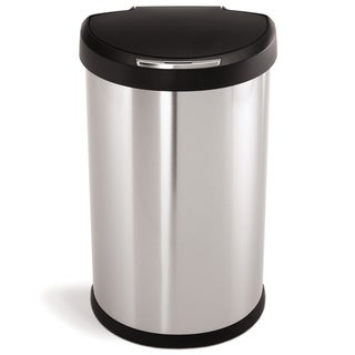 simplehuman Semi-Round Sensor Trash Can 45 liters/ 12 gallons
