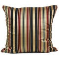 'Alba' Multi-Colored Stripe 16x16-inch Throw Pillow