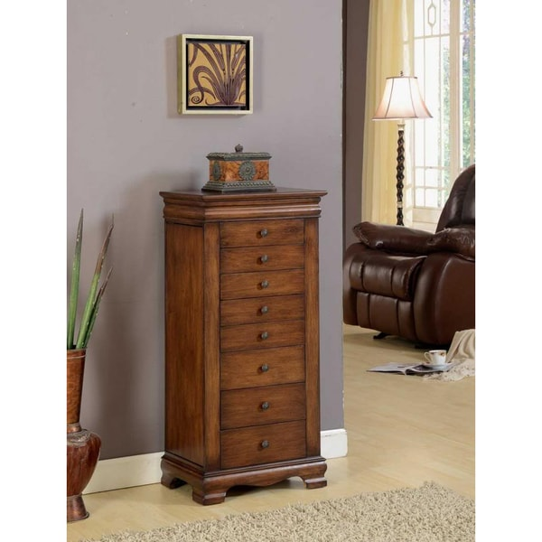 Marks Lock Jewelry Armoire