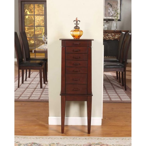 Sumba Yang 6 Drawer Jewelry Armoire
