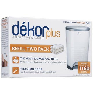 Dekor Diaper Plus Refills (Pack of 2)