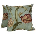Gabriella 'Oasis' Floral Throw Pillows (Set of 2)