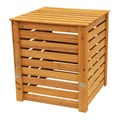 Solid Wood Slatted Compost Bin