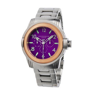 Android Men's 'Decoy' Purple Dial Watch