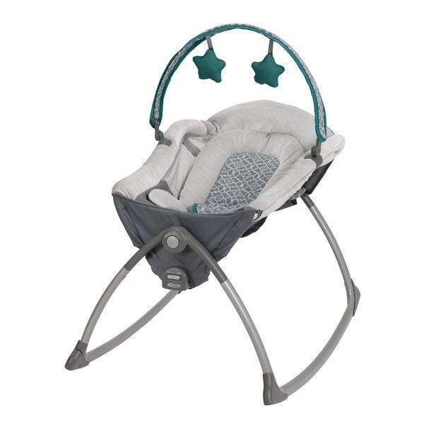 Graco Little Lounger Rocking Seat + Vibrating Lounger in Ardmore 11181469