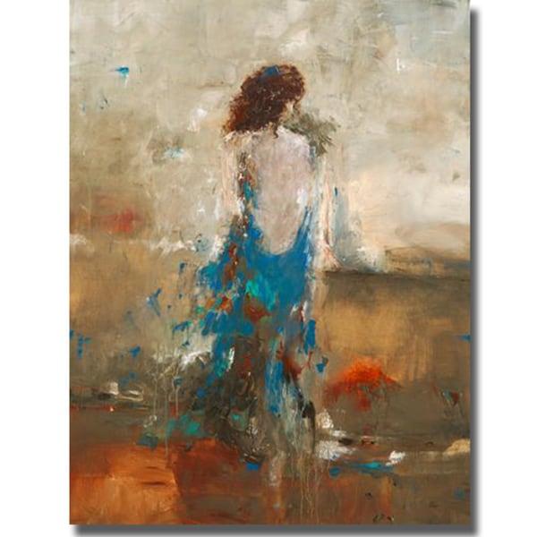 Lisa Ridgers 'Elegant Moment' Canvas Art