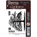 "Sheena Douglas A Little Bit Sketchy EZMount 4.25""X5.5""-The Majestic Oak"