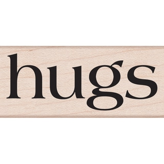 "Hero Arts Mounted Rubber Stamps 2""X1.5""-Hugs"