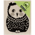 "Hero Arts Mounted Rubber Stamps 4""X1""-Baby Owl"