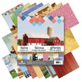 "Paper House Double-Sided Paper Pad 12""X12"" 24/Sheets-Farm"