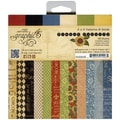 "French Country Patterns & Solids Paper Pad 6""X6""-36 Sheets"