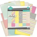 "Serendipity Double-Sided Paper Pack 12""X12"" 24/Sheets-"