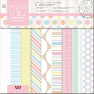 Papermania Spots/Stripes Pastels Designstax 12