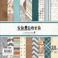 "Swagger Paper Pad 6""X6"" 36/Sheets-18 Designs/2 Each"