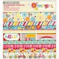 "My Girl Designer Paper Pad 6""X6"" 24/Sheets-12 Double-Sided Designs/2 Each"