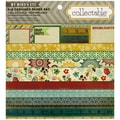"Collectable Remarkable Paper Pad 6""X6"" 24/Sheets-12 Double-Sided Designs/2 Each"