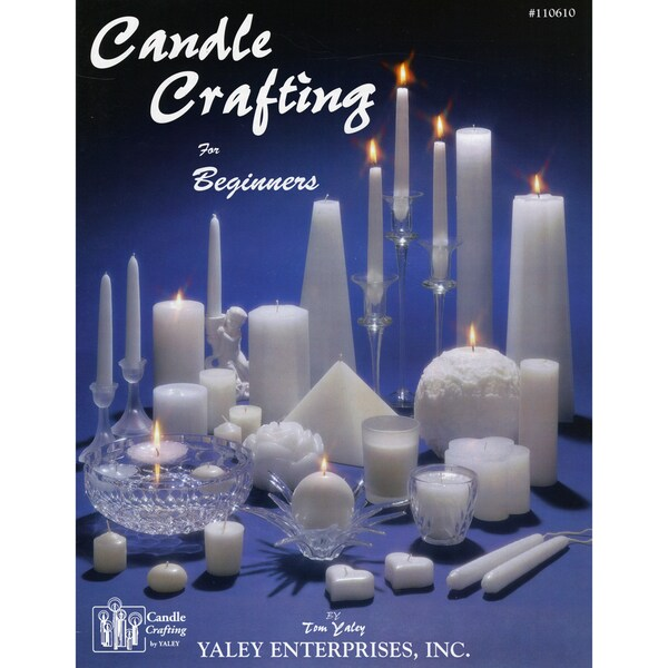 Yaley Books-Candle Making Made Easy Book