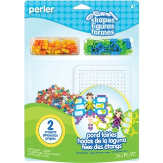 Perler Fun Fusion Fuse Bead Activity Kit-Pond Fairies
