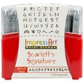 Uppercase Stamp Set 2.5mm-Scarlett's Signature