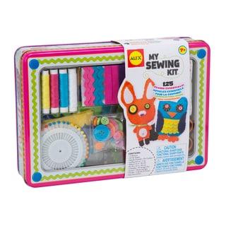 Sewing Kit Tin Box