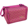 "Creative Options Stow 'n' Go Shoulder Tote 12""X8.25""X8.25""-Magenta/Green/Maze"