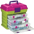 "Creative Options Grab'n Go 3-By Rack System 16.5""X11.75""X15""-Green/Magenta"