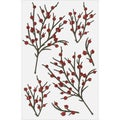 Martha Stewart Stickers-Berry Branch