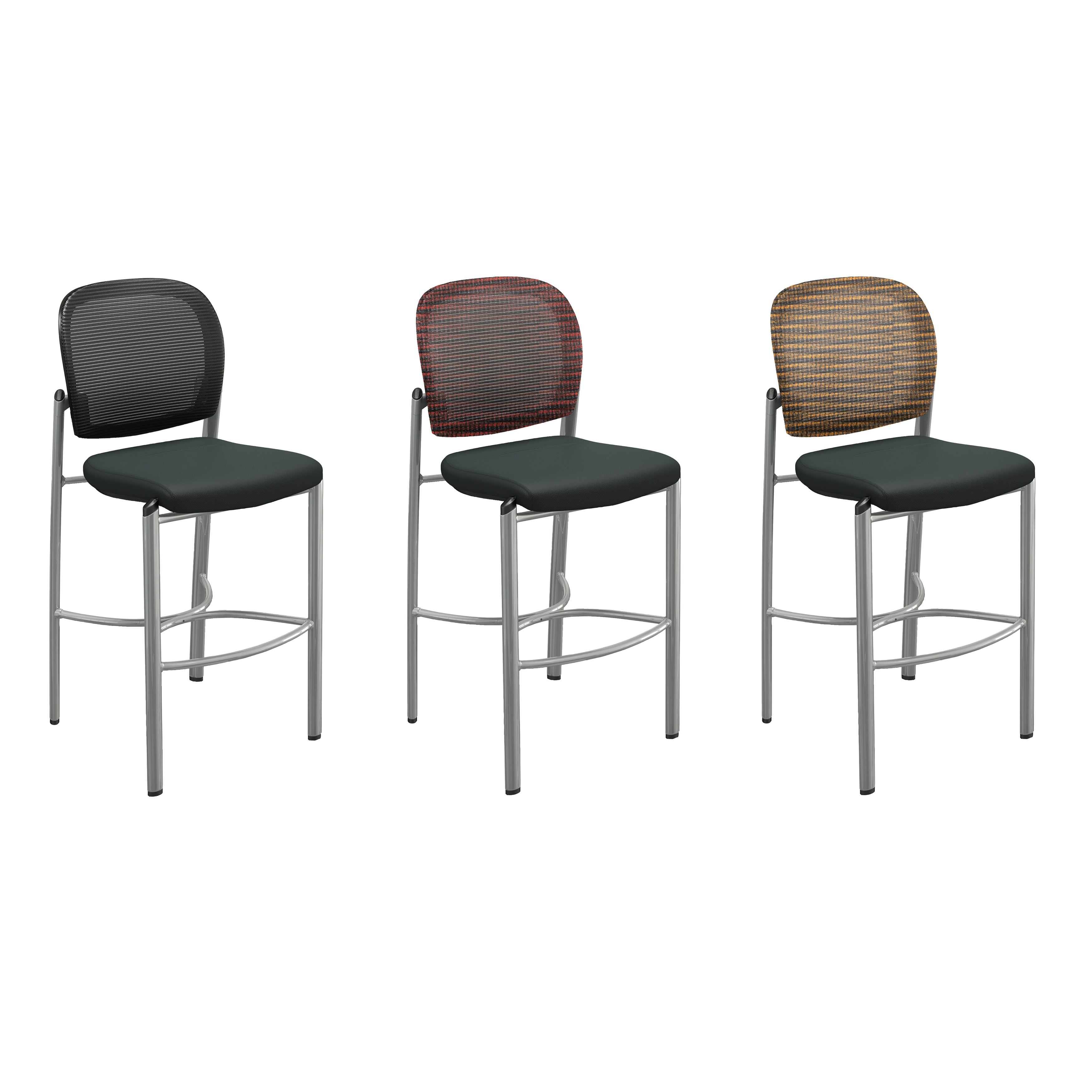 Mayline Valore Series TSS2 Bistro Bar Height Stools (Pack of 2)