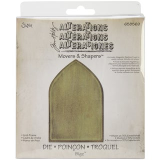 Sizzix Movers & Shapers Base Die By Tim Holtz-Arch Frame