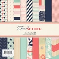 "Trend Setter Paper Pad 6""X6"" 36/Sheets-18 Designs/2 Each"