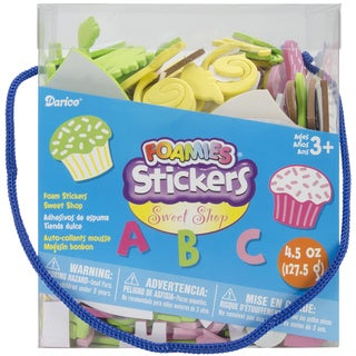 Foam Stickers 4.5 Ounces-Sweet Shop