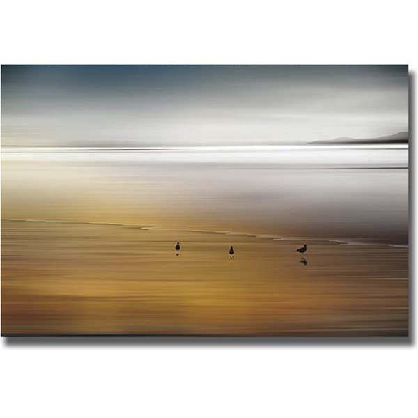 Marvin Pelkey 'Quiet Invitation' Canvas Art
