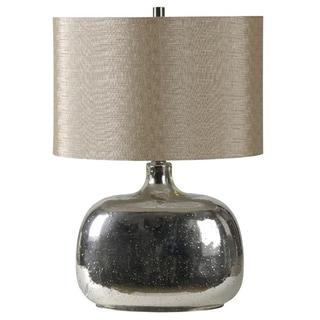 Ren-Wil 'Barilla' Round Chrome Table Lamp