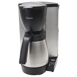 Capresso MT600 PLUS 10 Cup Programmable Coffee Maker