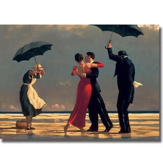 Jack Vettriano 'Singing Butler' Canvas Art
