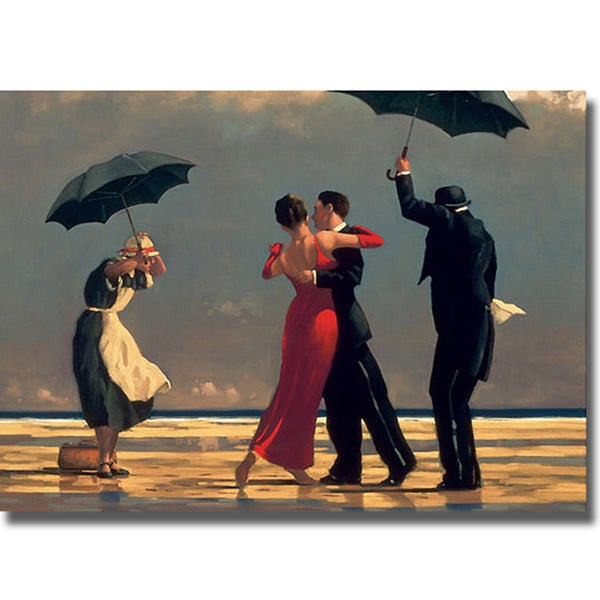 Jack Vettriano 'Singing Butler' Canvas Art