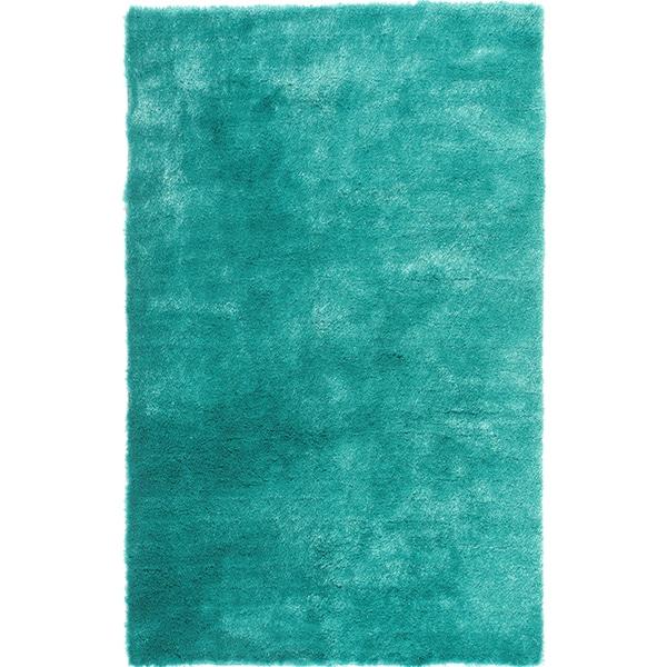 ... 3x5 Bathroom Rugs Handmade Posh Teal Shag Rug 3 X 5 15396516 Overstock  Shopping Great Deals ...