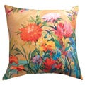 'Martha's Choice' Indoor/ Outdoor Floral Throw Pillow