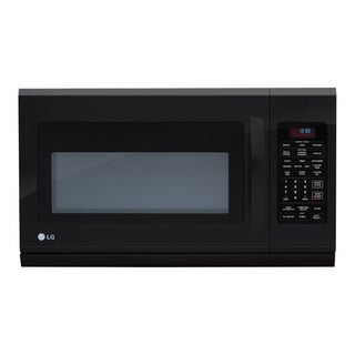 LG Over-the-Range Smooth Black Microwave Oven