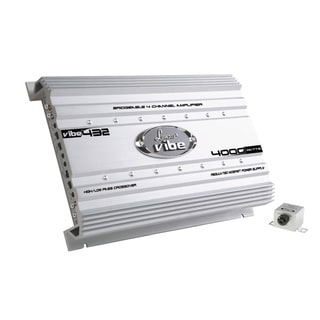 Lanzar Vibe 4000 Watt 4 Channel Mosfet Amplifier